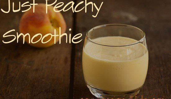 Peach Smoothie Recipe | CouponsAndKids.com