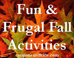 Fun and frugal Fall activities from CouponsAndKids.com