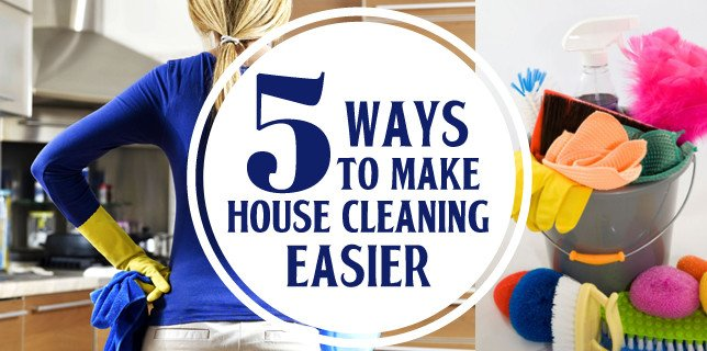 5 Ways to Make House Cleaning Easier from CouponsAndKids.com